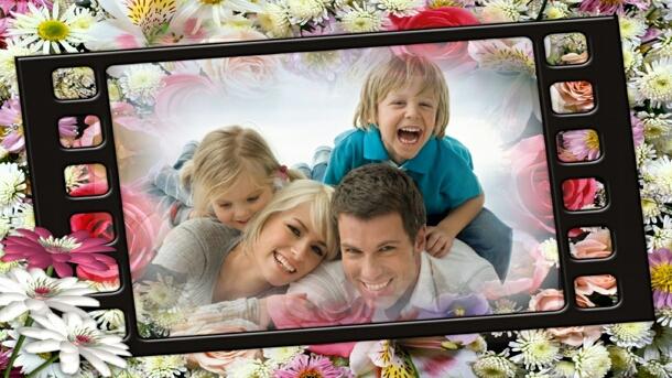 Family Slideshow - Movie Style